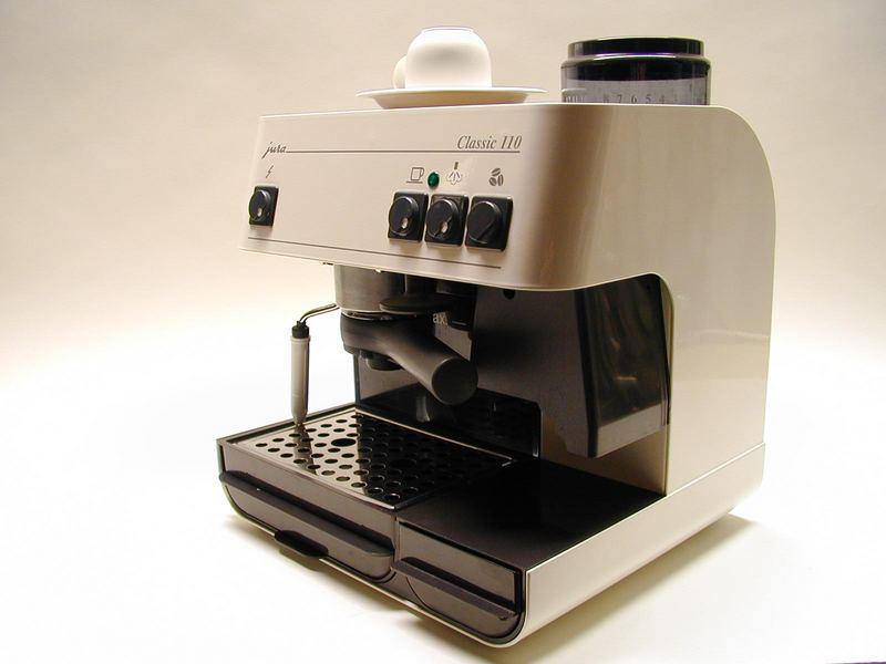 jura 110 classic espressomaschine foto bild industrie und technik industrie kultur. Black Bedroom Furniture Sets. Home Design Ideas