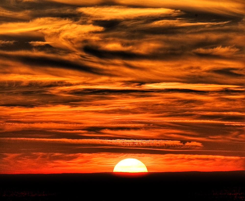 Jura's sunset
