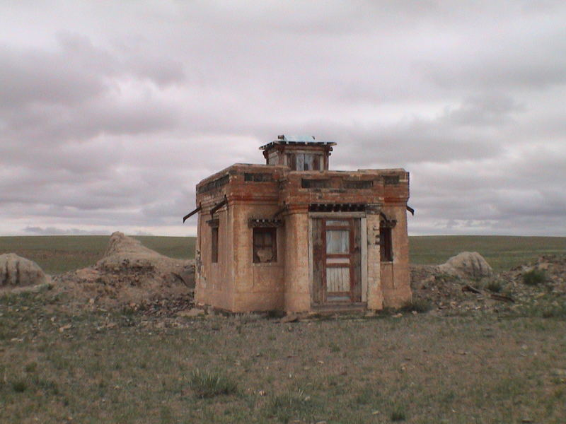 Just a home in central Mongolia