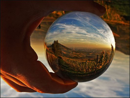 ~ just a little piece of world in my hand ~