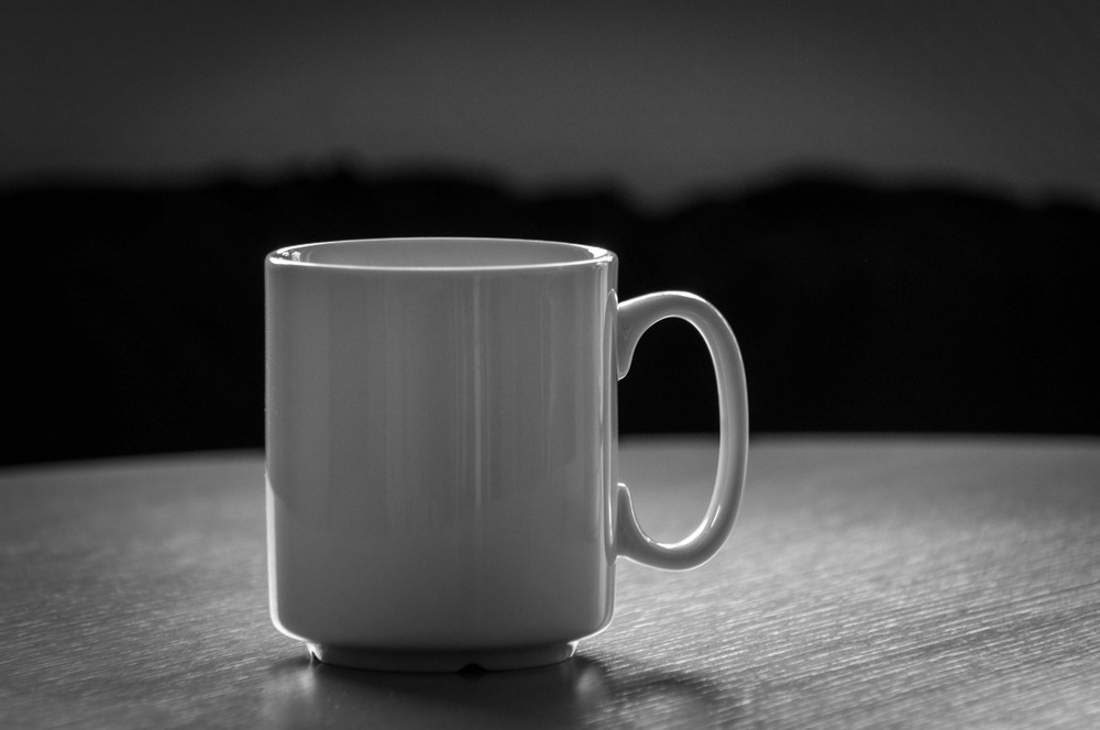 just a lonely cup