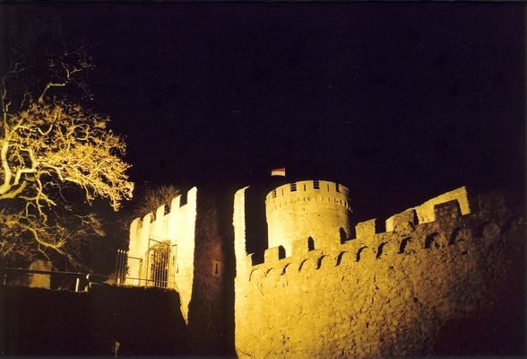 Just another castle at night .... (1)