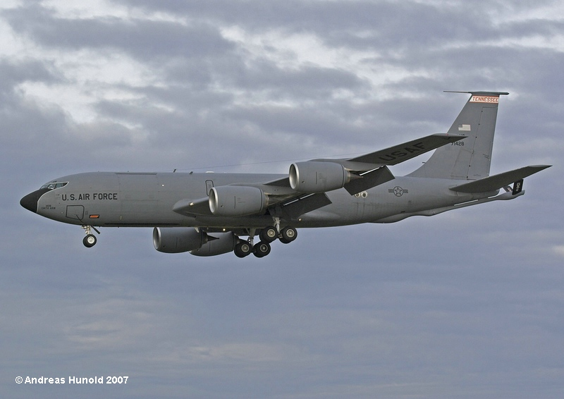 Just another tanker..... Tennessee ANG KC-135R