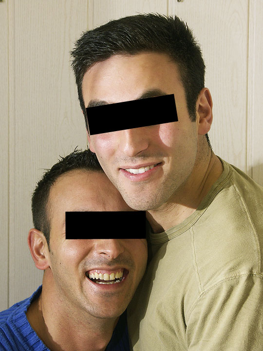 just brothers - not gays ... I think :o)