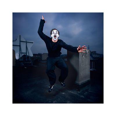 ...just clowning