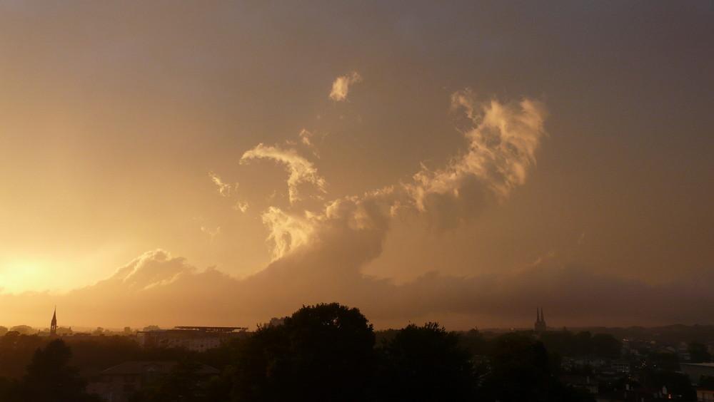 Juste avant l'orage...