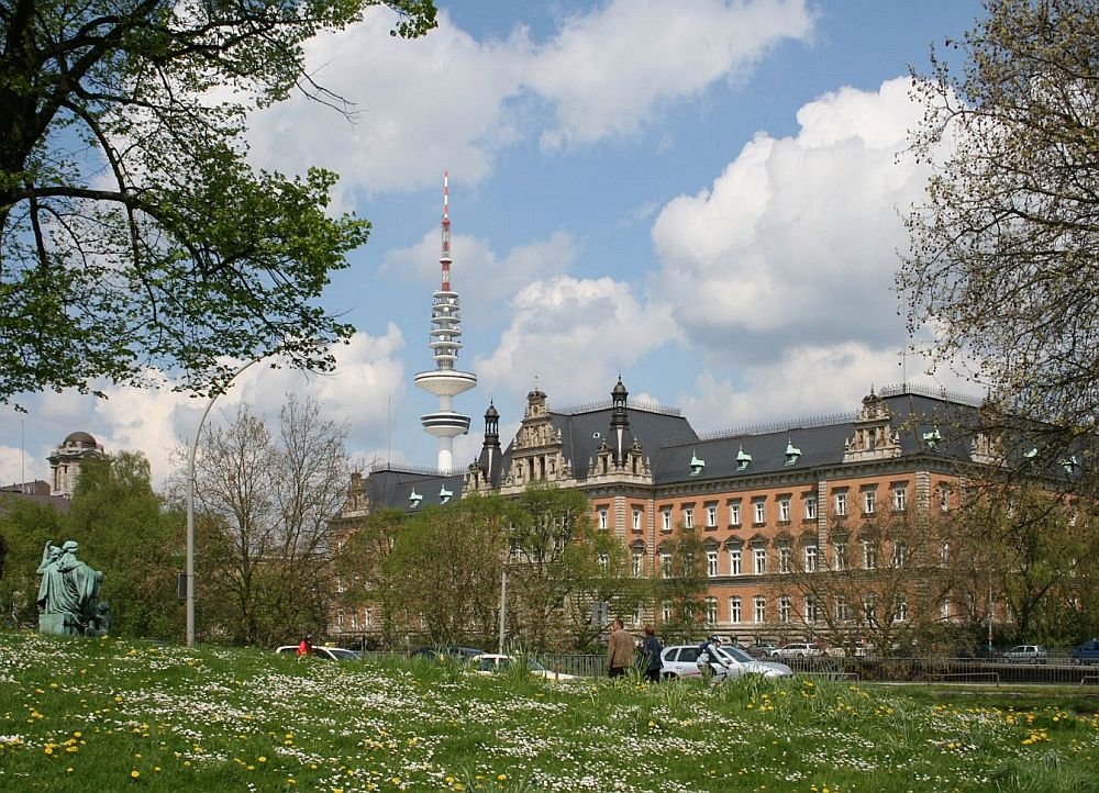 Justitzpalast und Wachturm