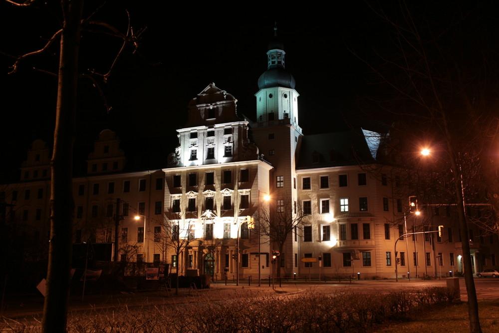 Justiz Gebäude in Magdeburg