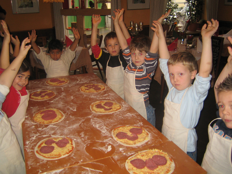 Justus feiert Kindergeburtstag im Bonner La Vita