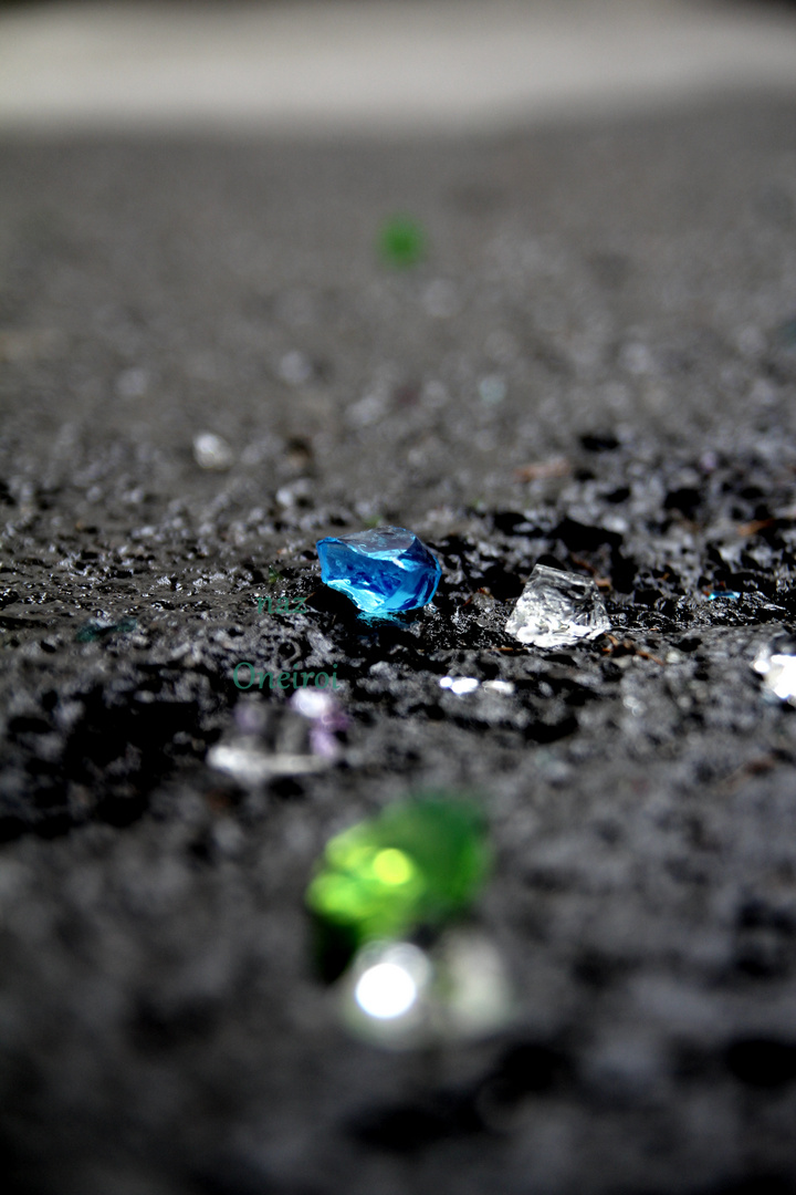 Juwelen der Strasse