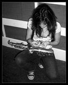 K... and her Saxophone...