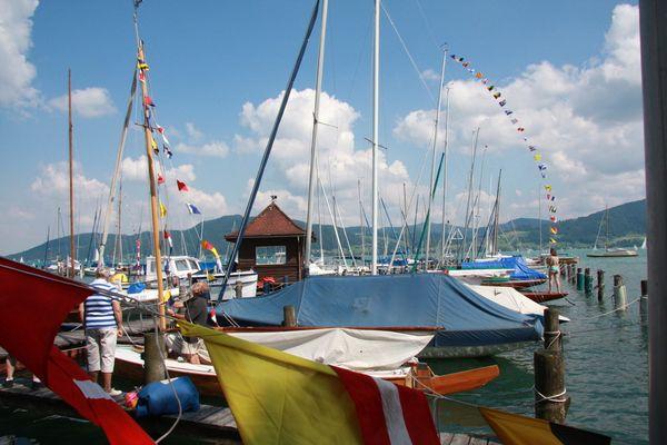 K. & K- Yachtgeschwader Traditionssegelwoche Attersee 2009