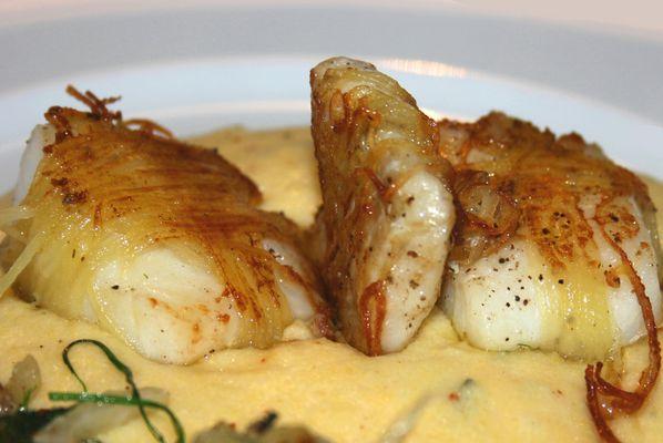 Kabeljau im Kartoffelmantel