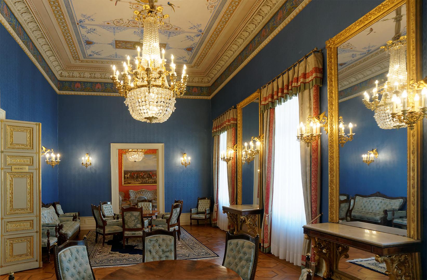 Kabinettzimmer des Hessischen Ministerpräsidenten