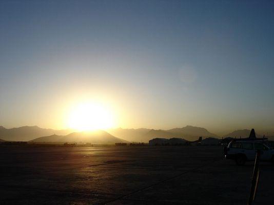 Kabul um 5 Uhr