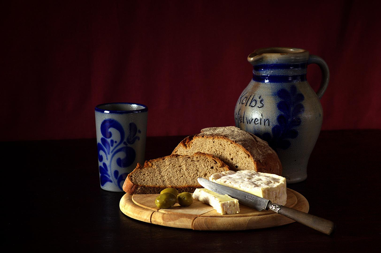 Käse-Stillleben