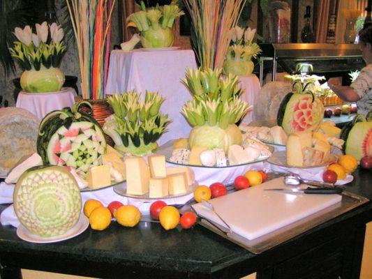 Käsebuffet im Hotel Stone Palace