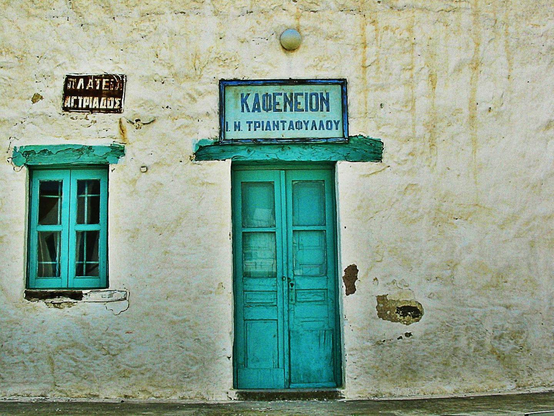 Kafeneion auf Kreta