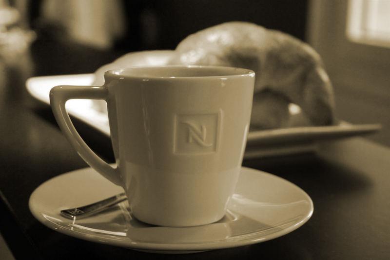 Kaffe und Gipfel