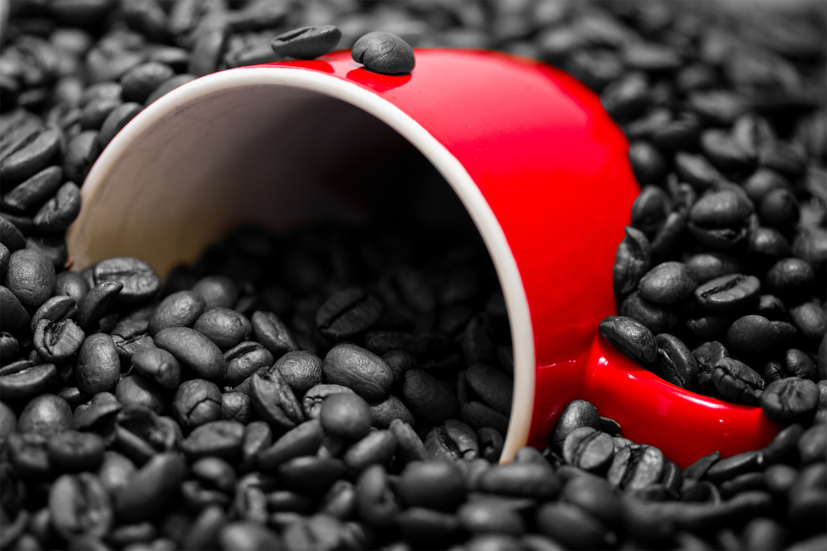 Kaffee Colorkey
