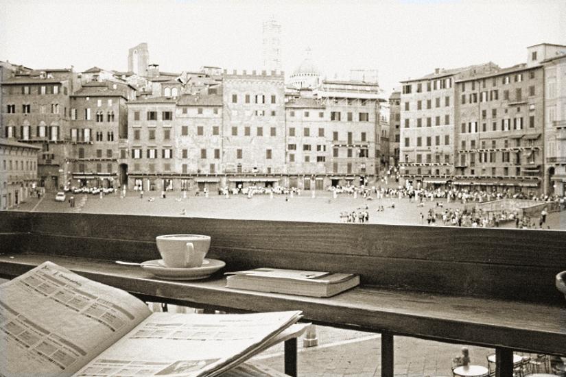 Kaffee in Siena