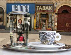Kaffee in Wien .