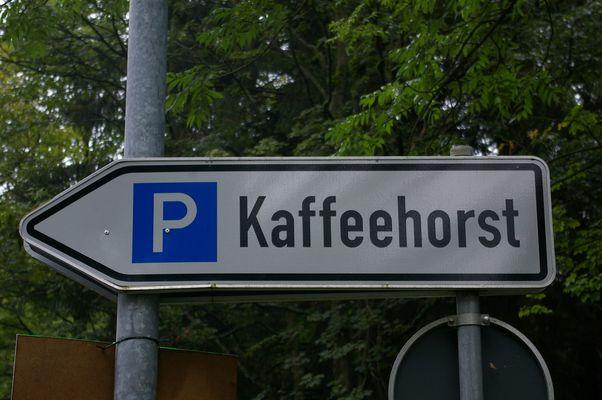 Kaffee mit Horst? Oder lieber parken mit Horst?