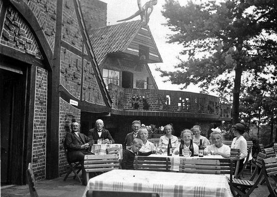 Kaffee Verrückt Worpswede ca 1929