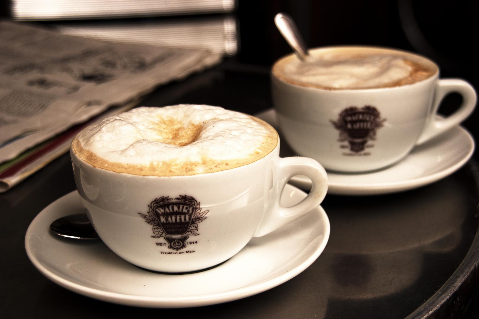 Kaffee Wacker ...