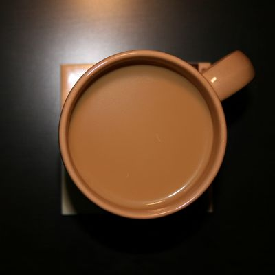 kaffeefarben