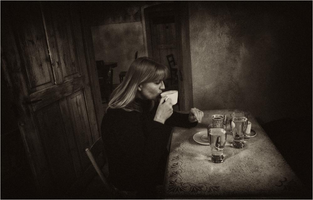 Kaffeehausatmosphäre