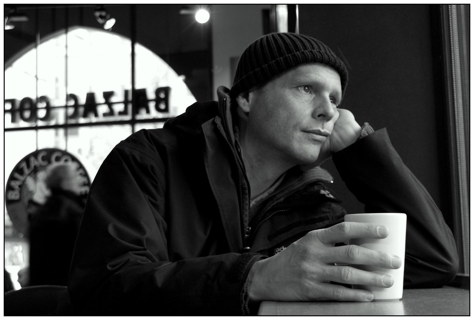 Kaffeehausfensterblick