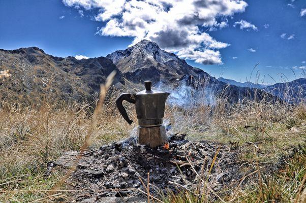 Kaffeekränzchen vor dem Nomnom