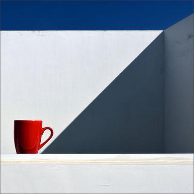 Kaffeepause.