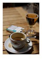 Kaffeepause in Sevilla