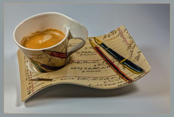 Kaffeepause und FC Pause...