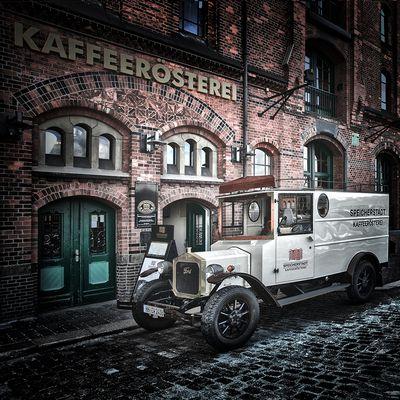 Kaffeerösterei, Hamburg