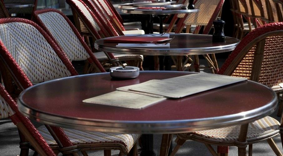 Kaffeeterrasse in Paris