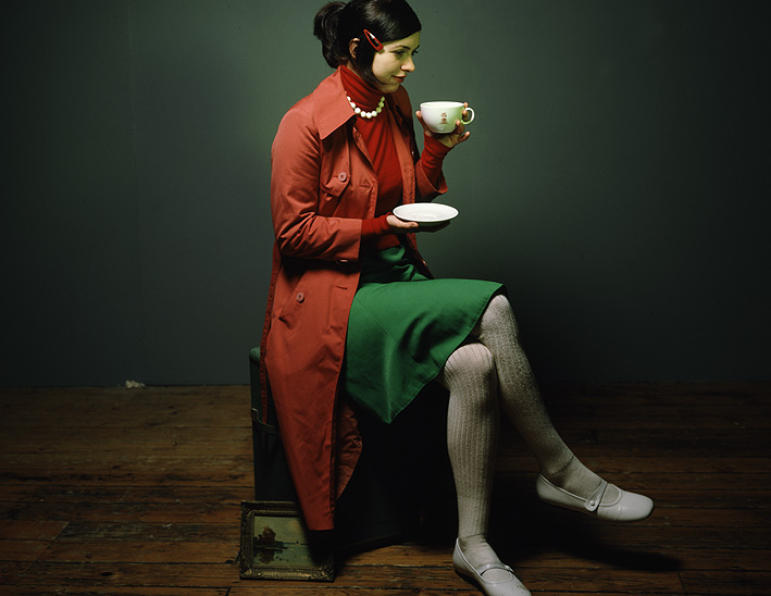 kaffeetrinken und traeumen koennen