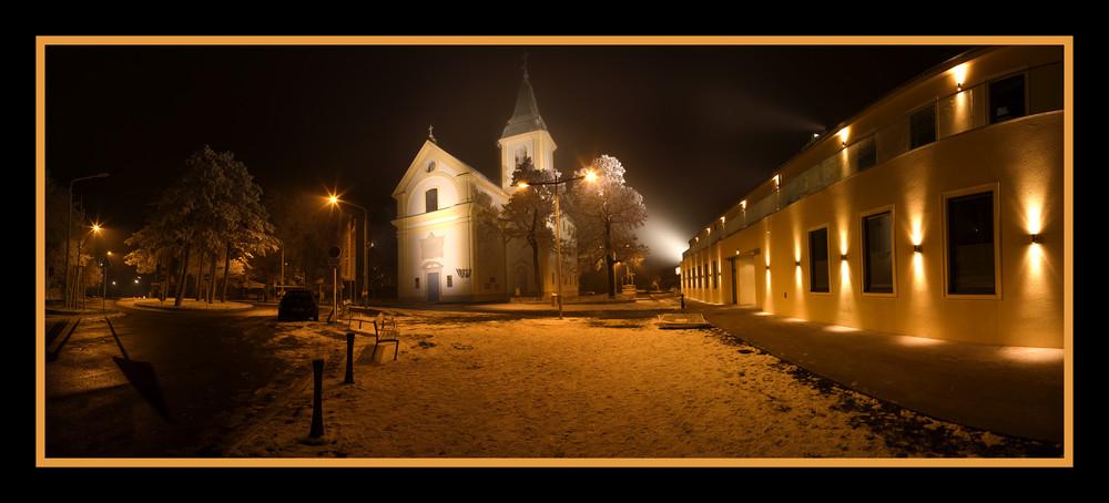 Kahlenberg bei Nacht