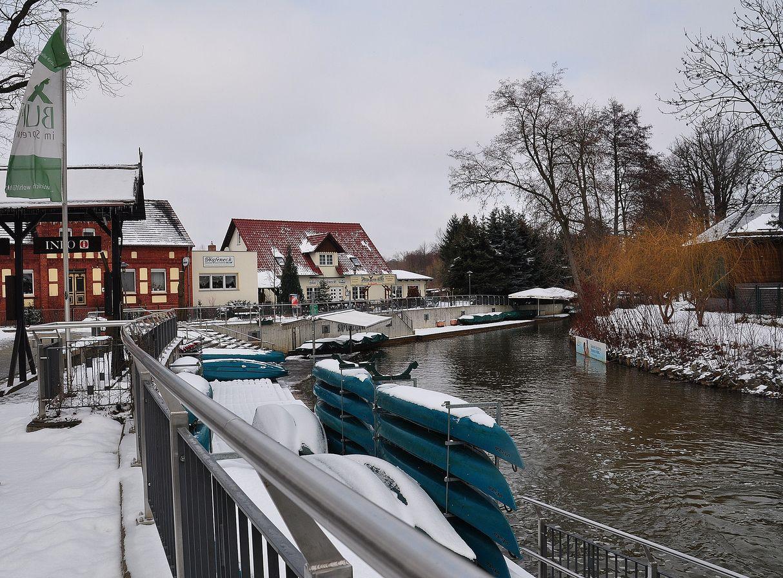 Kahnhafen im Winter