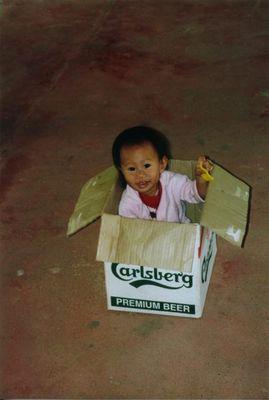 Kai in der Kiste