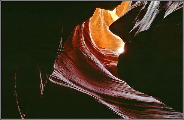 Kaibito Creek, oder war es doch im Antelope Canyon?
