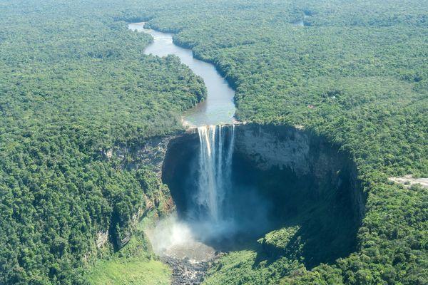 Kaieteur Wasserfall in Guyana