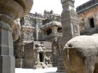 Kailash Temple inside the Temple Complex of Ellora