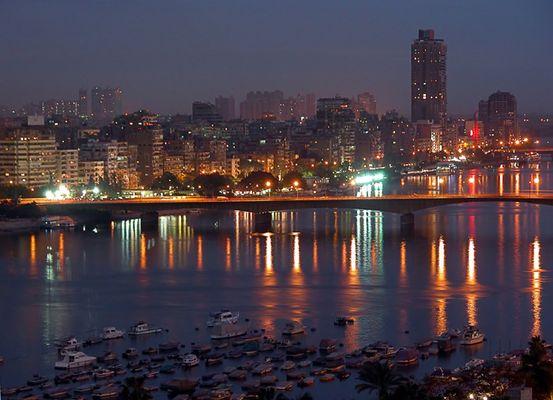 Kairo bei Nacht - Ägypten 10