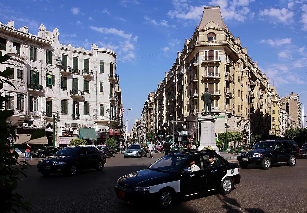 Kairo - Die Menschen in Ägypten gehen auf die Straße …
