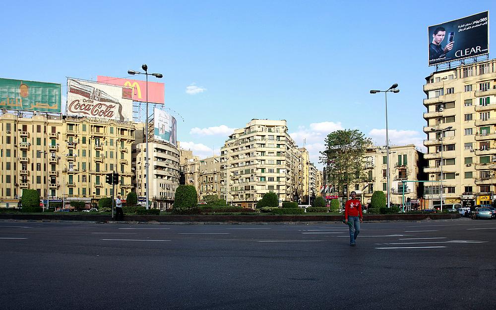 Kairo - Tahrir Platz November 2009