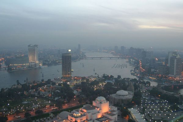 - Kairo von oben -