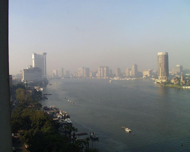 Kairo+Nil+Smog